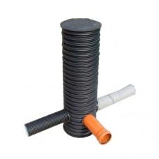 Пластиковые дренажные колодцы с крышкой (Россия)