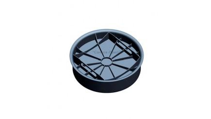 Крышка (дно колодца) Wavin с уплотнительным кольцом