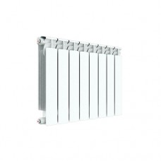 Биметаллический радиатор Rifar Alp 500, 8 секции, боковое подключение