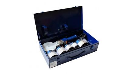 Сварочный комплект Polys SP-4a 1200W TraceWeld PROFI blue с насадками Ø 50 - 110