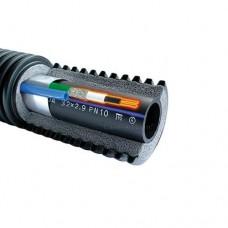 Uponor Ecoflex Supra Plus с греющим кабелем для ХВС и канализаций 25 x 2.3