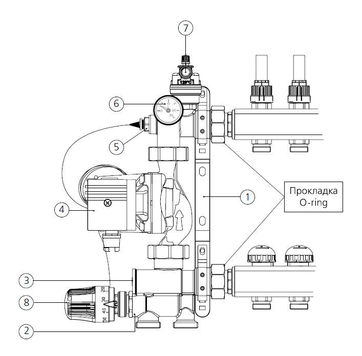 Конструкция Solomix Uni-Fitt