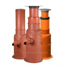 Коллекторные колодцы Uponor для систем дренажа и ливневой канализации