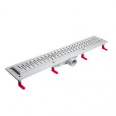 Душевые лотки MIANO длиной 400-1000 мм серии STANDART MEDIUM