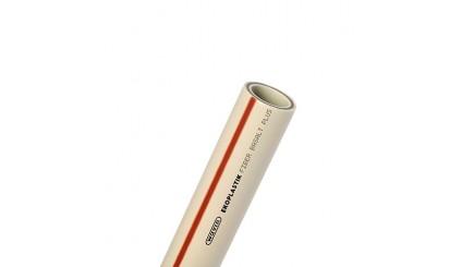 Полипропиленовая труба Ekoplastik Fiber Basalt Plus диаметром 63 мм и толщиной стенки 8.6 мм