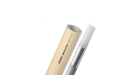Полипропиленовая труба Ekoplastik Stabi Plus диаметром 90 мм и толщиной стенки 10.1 мм
