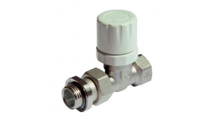 Вентиль термостатический верхний прямой Purmo MTB130 с ручным регулирующим элементом в комплекте