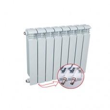 Алюминиевый радиатор Rifar Alum Ventil 500, 4 секции, нижнее подключение