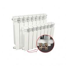 Биметаллический радиатор Rifar Base Ventil 200, 6 секции, нижнее подключение