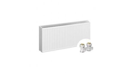 Стальной панельный радиатор Rommer Ventil тип 33