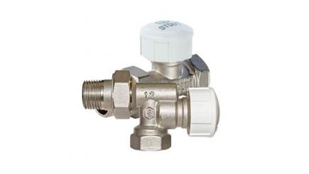 Клапан термостатический для радиатора Stout (Италия)