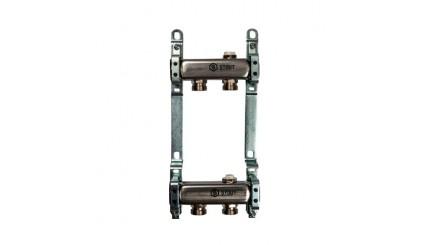 Коллектор Stout (Италия) из нержавеющей стали для радиаторной разводки SMS 0923