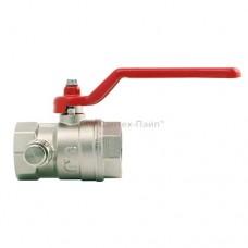 Кран шаровой ITAP 115 со спускным клапаном стандартный ВР/ВР